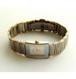 RADO Dames horloge met titanium geel goud