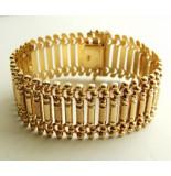 Christian Gouden fantasie armband