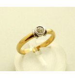 Christian Gouden diamanten ring wit goud