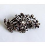 Christian Antieke broche met roosdiamant