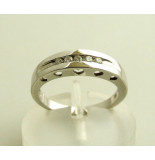 Christian Ring met diamant wit goud