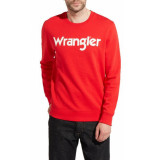 Wrangler Sweater w6565il1p rood