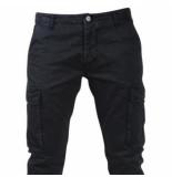 Biaggio Jeans Trendy heren worker lengte 34 tigom zwart