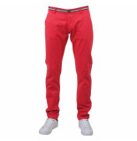 Biaggio Jeans Taniel heren chino lengte 34 rood