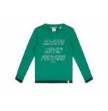 Nik & Nik Sweater always movin groen