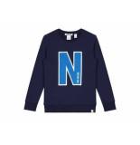 Nik & Nik Sweater n navy blauw