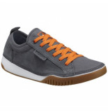 Columbia Veterschoen men bridgeport lace graphite heatwave grijs