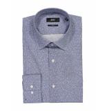 Hugo Boss Overhemd nelson blue blauw