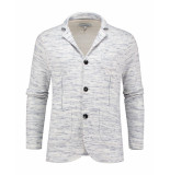 The GoodPeople Blazer le-j white melange wit