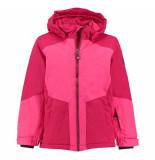 Color Kids /berry meisjes ski jas dawson 10.000mm waterkolom roze