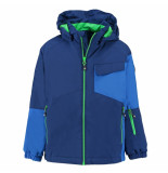 Color Kids Jongens softshell ski jas debora 8.000mm waterkolom blauw