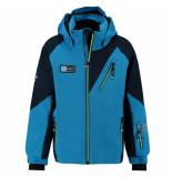 Kilpi Jongens ski jas garney met 10.000mm waterkolom blauw