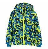 Kilpi Met lime jongens ski jas benny met 5.000mm waterkolom blauw