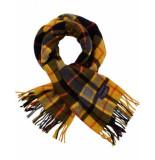 Scotch & Soda Geruite sjaal met franjes