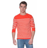 Scotch & Soda T-shirt met lange mouwen oranje