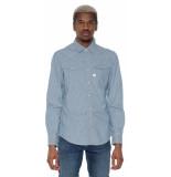 G-Star Casual shirt met lange mouwen blauw