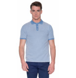 The GoodPeople Best polo met korte mouwen licht blauw