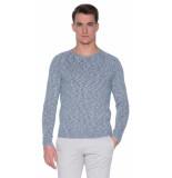 The GoodPeople Bora bora pullover o-hals blauw