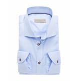 John Miller Shirt tailored fit blauw