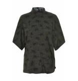 Numph Isora blouse creme de menthe groen