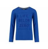 Baker Bridge Shirt lange mouw terence blauw