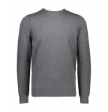 Boss Orange Pullover kwasiros casual grey grijs