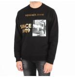 Versace Jeans Jeans sweater zwart