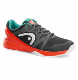 Head Tennisschoen nitro team men anthracite opal zwart