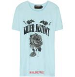In Gold We Trust Killer instinct front baby blue blauw