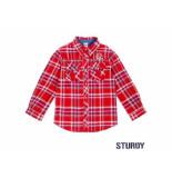 Sturdy Overhemd ruit outsiders rood