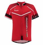 Rogelli Kinder fietsshirt gara mostro rood