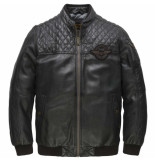 PME Legend Bomber jacket keystone moonless night zwart