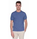 Closed T-shirt met korte mouwen blauw