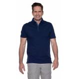 Campbell Polo met korte mouwen blauw