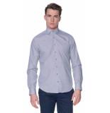 Blue Industry Casual shirt met lange mouwen bruin