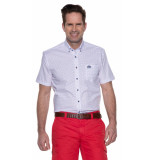 State of Art Casual shirt met korte mouwen wit
