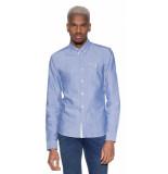 Scotch & Soda Casual shirt met lange mouwen licht blauw