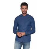 Cast Iron Casual shirt met lange mouwen blauw