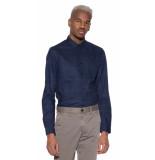 Calvin Klein Casual shirt met lange mouwen licht blauw
