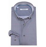 The BLUEPRINT Trendy overhemd met lange mouwen grijs