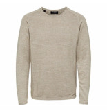 Selected Homme Bakes crew neck beige
