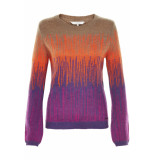 Numph Iolana pullover gentian violet paars