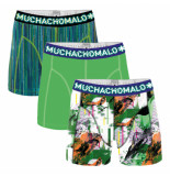 Muchachomalo Boys short 3-pack life is a glitch