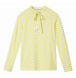 Sandwich 21101632 30020 t-shirt long sleeves warm yellow