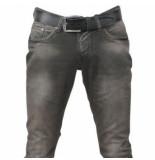 Cobbelti Heren jeans met gratis riem lengte 34 stretch groen