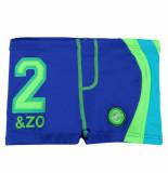 Zee & Zo Zee&zo / groene jongens zwembroek mongolie baltimora uv 40+ blauw