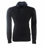 MZ72 Heren trui fijn gebreid safy zwart