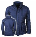 Montazinni Trendy heren jas 410 blauw