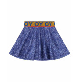 Oilily Sweat rok holivia- blauw