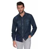 Diesel Casual shirt met lange mouwen blauw